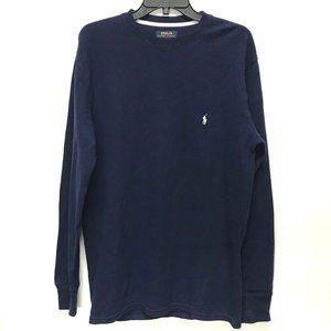 Polo Ralph Lauren Navy Blue Pullover Sweater
